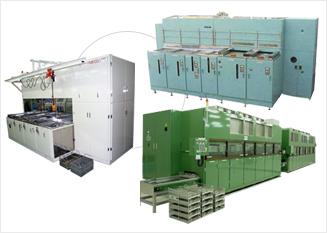 最新技術で人と環境と経営にやさしい機械設備を提供するAXXELの部品洗浄器写真